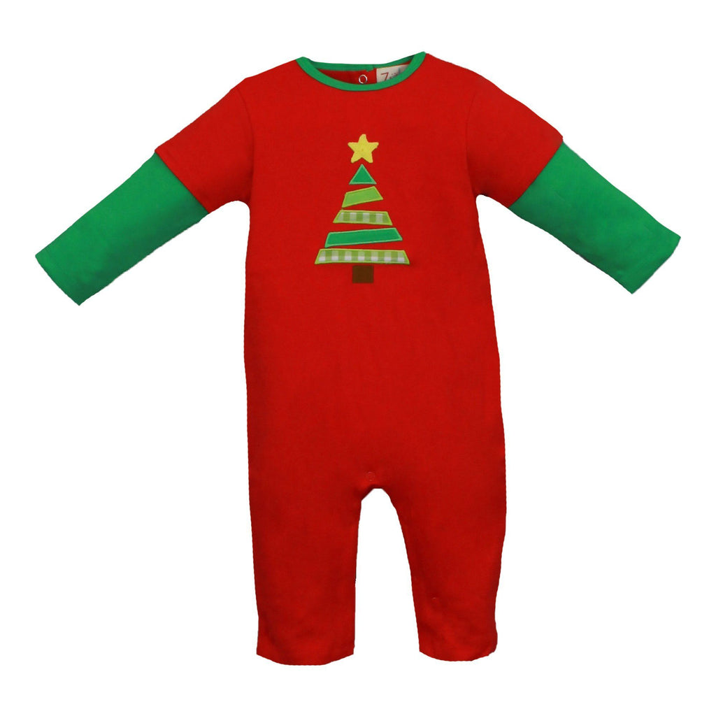 Knit Christmas Tree Longall - Petit Ami and Zubels baby toys and gifts toddler child