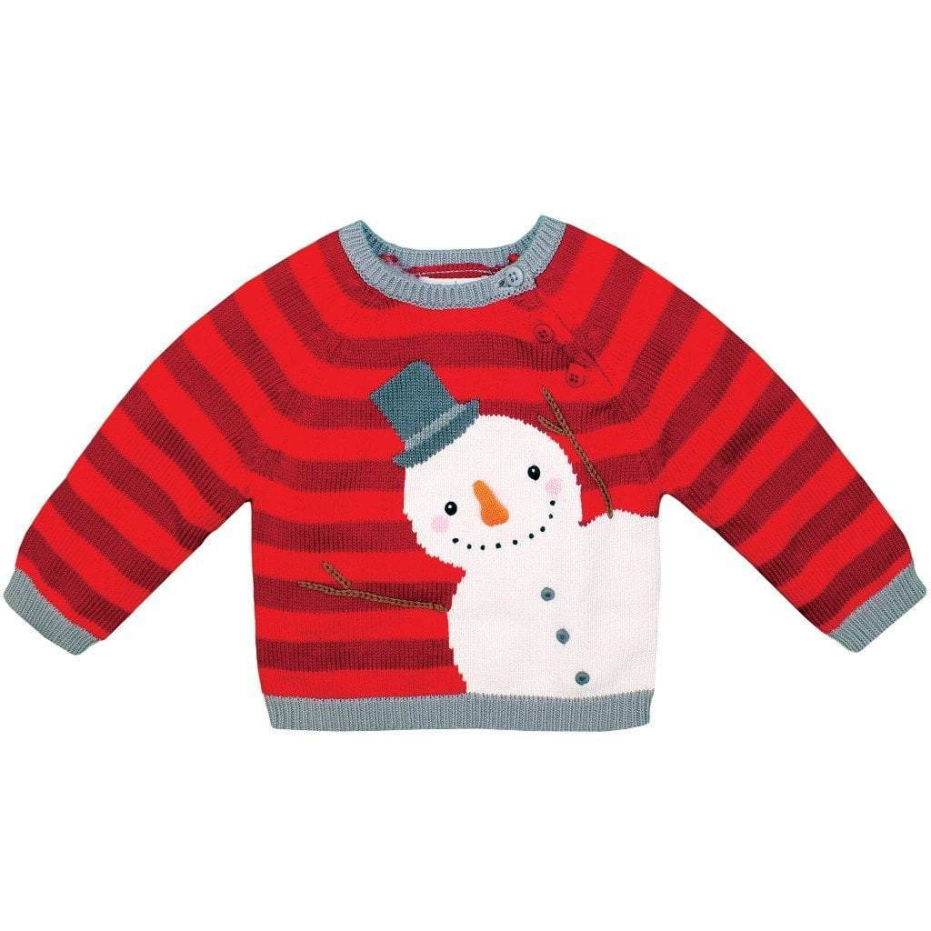 zubels sweater 9M Snowman Cotton Sweater