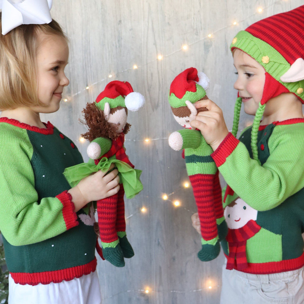 Elf Knit Sweater for Girls sweater zubels