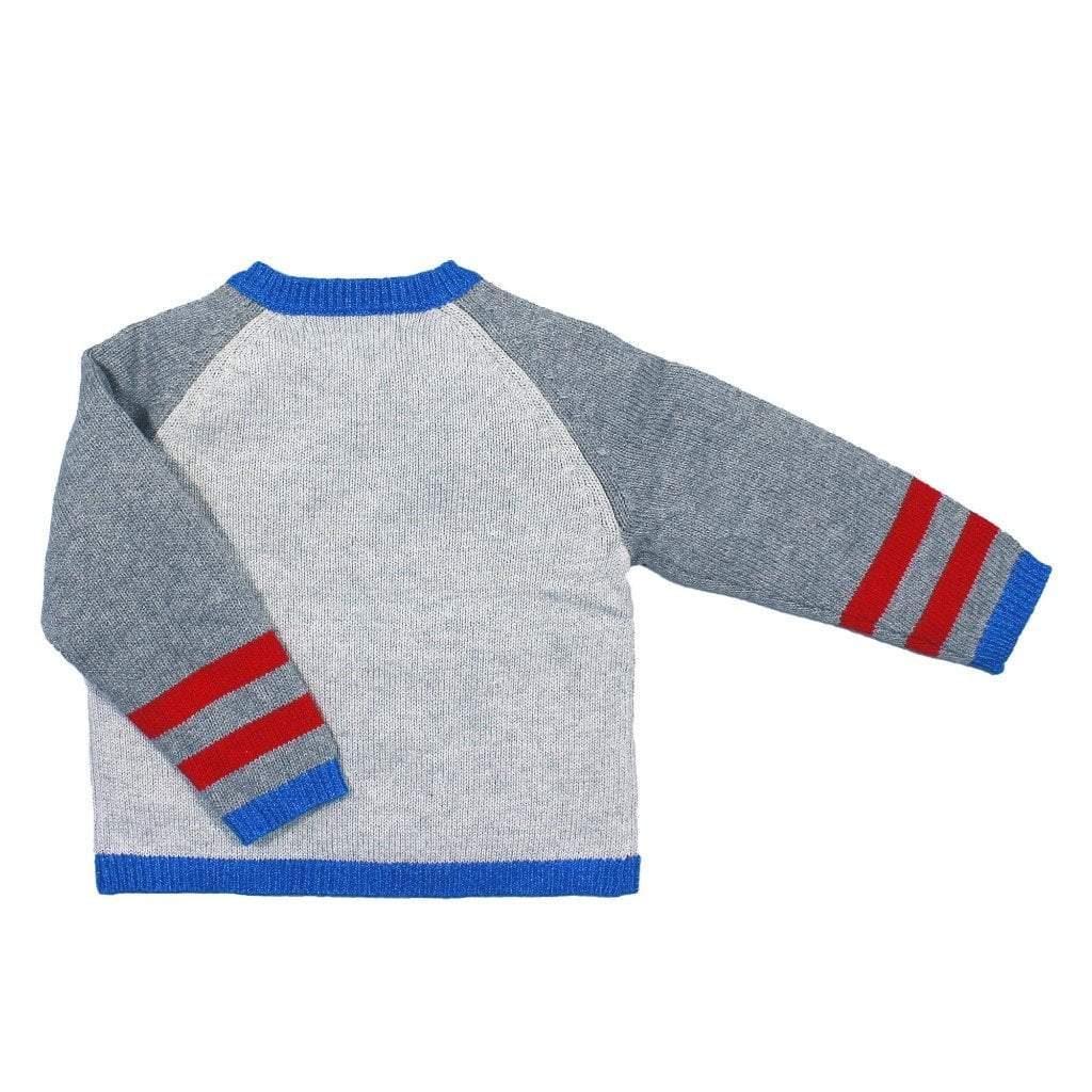 zubels sweater Truck Cotton Sweater