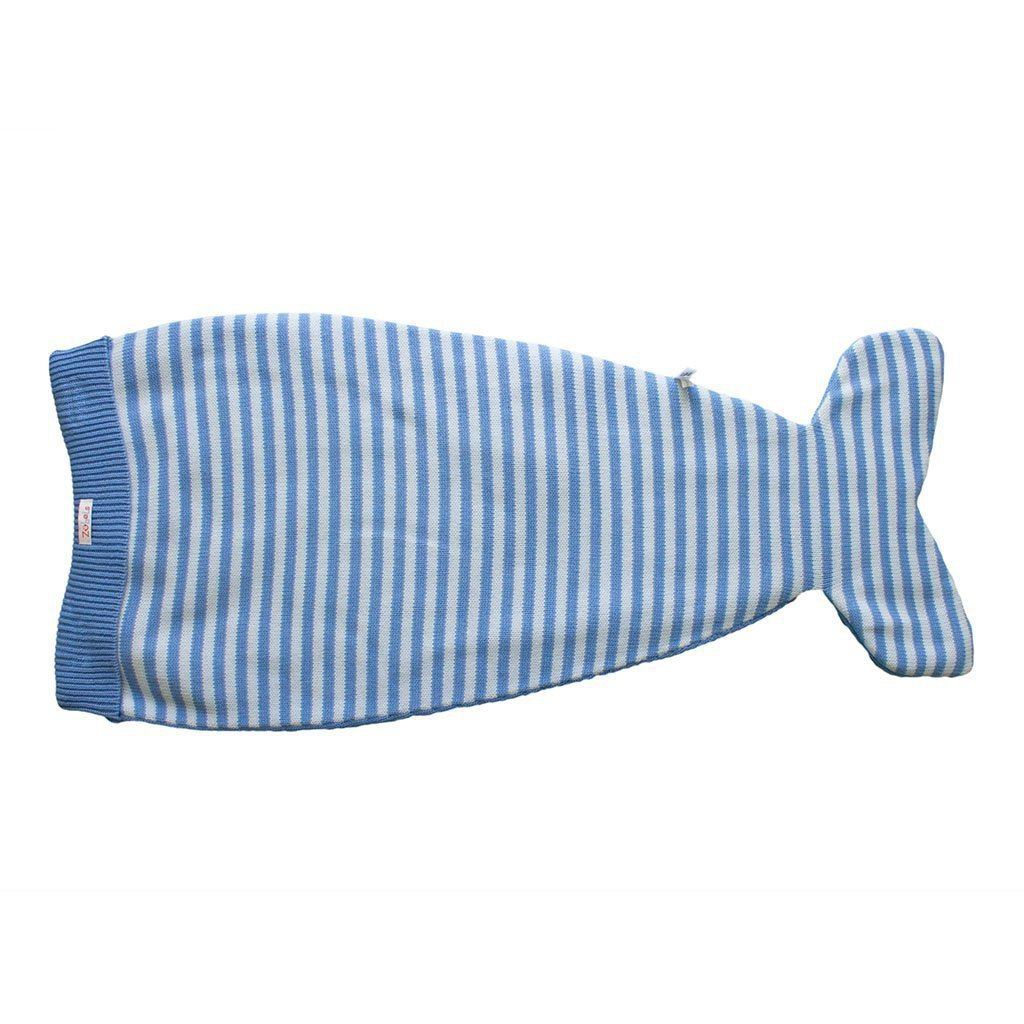 Whale Knit Blanket - Petit Ami and Zubels baby toys and gifts toddler child