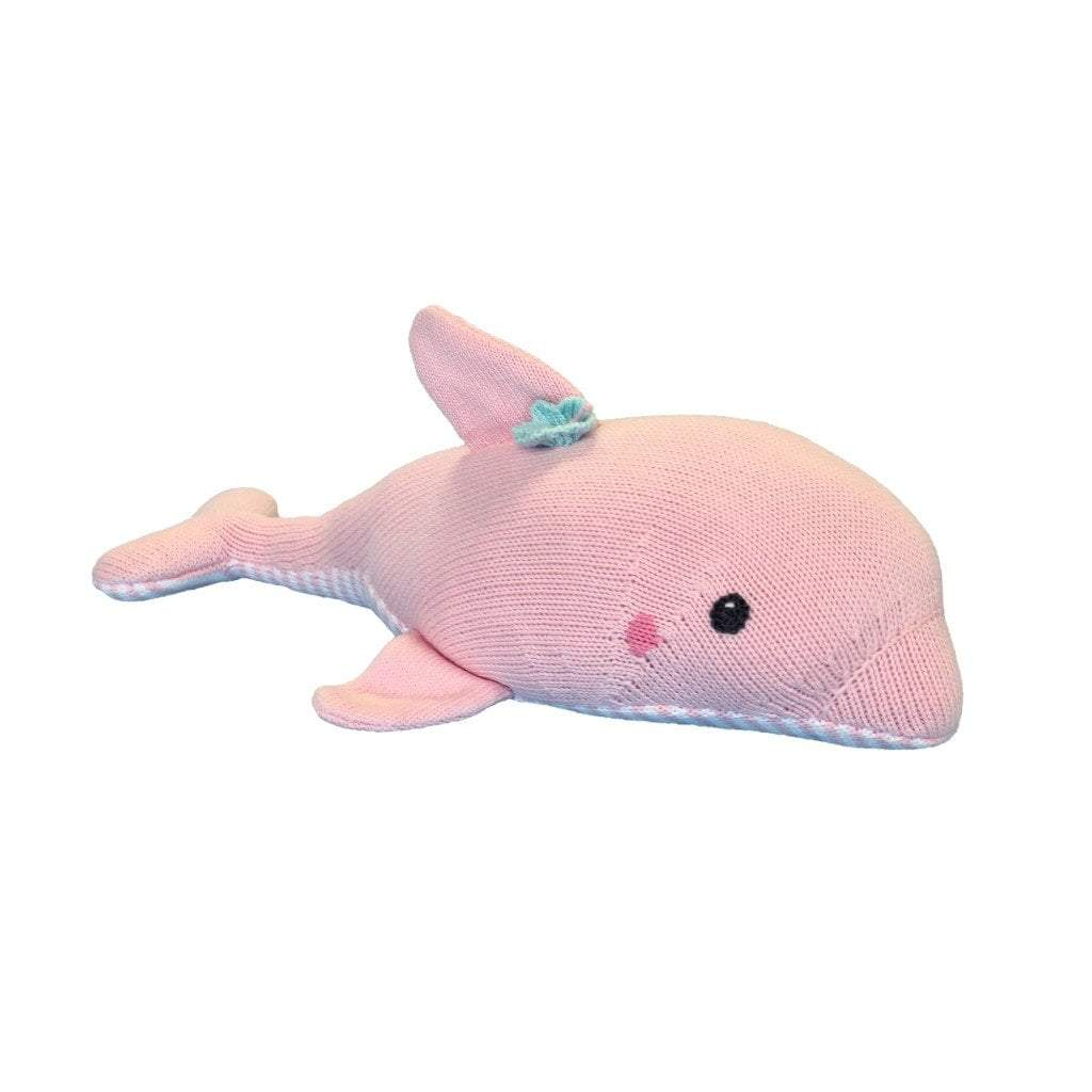 Dolly the Dolphin Knit Doll toy zubels 14""