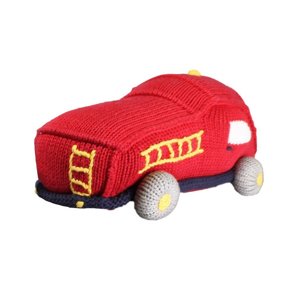 Chuck the Fire Truck Knit Toy toy zubels
