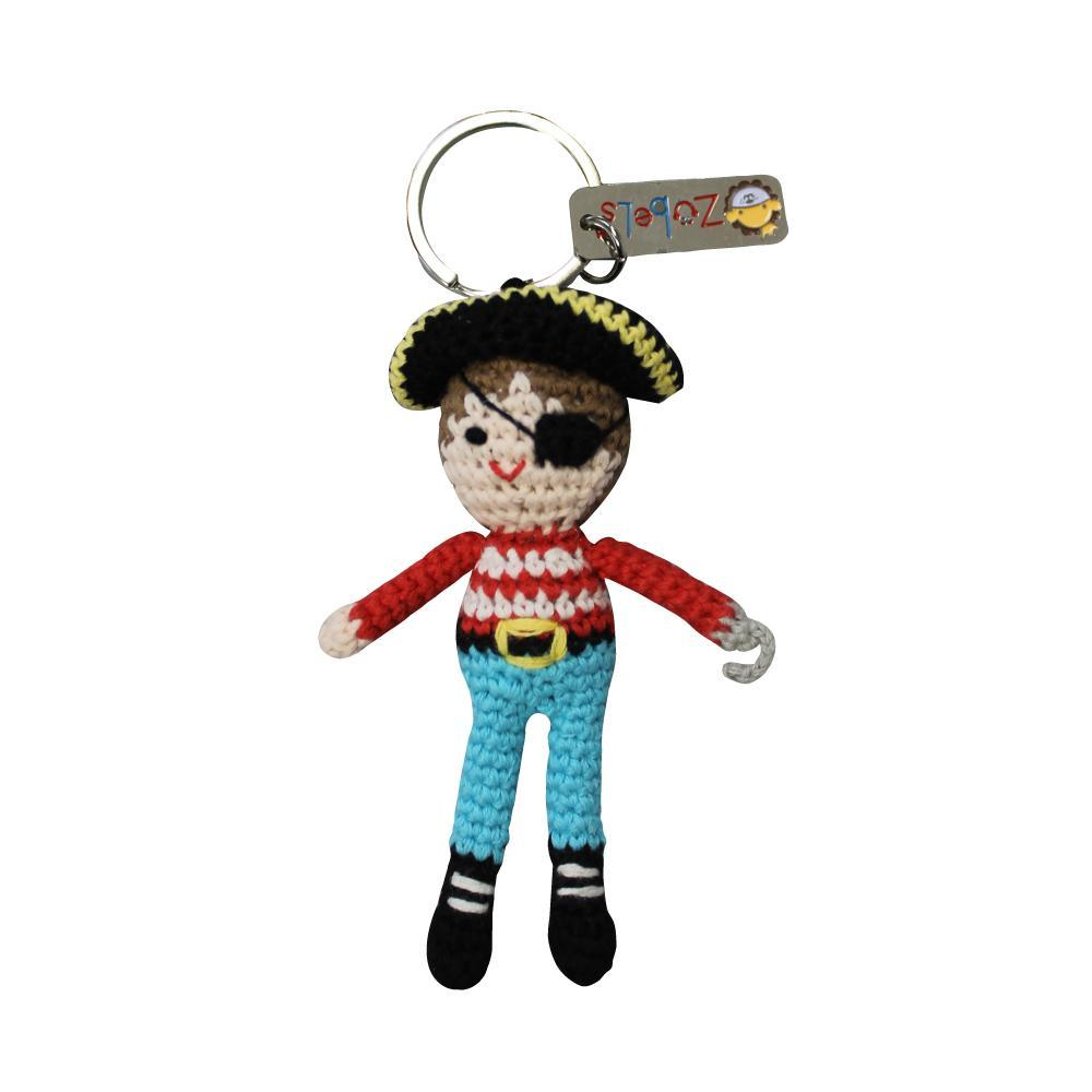 zubels toy Keychain Pirate 4""