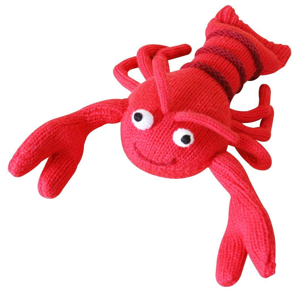 Larry the Lobster - Petit Ami and Zubels baby toys and gifts