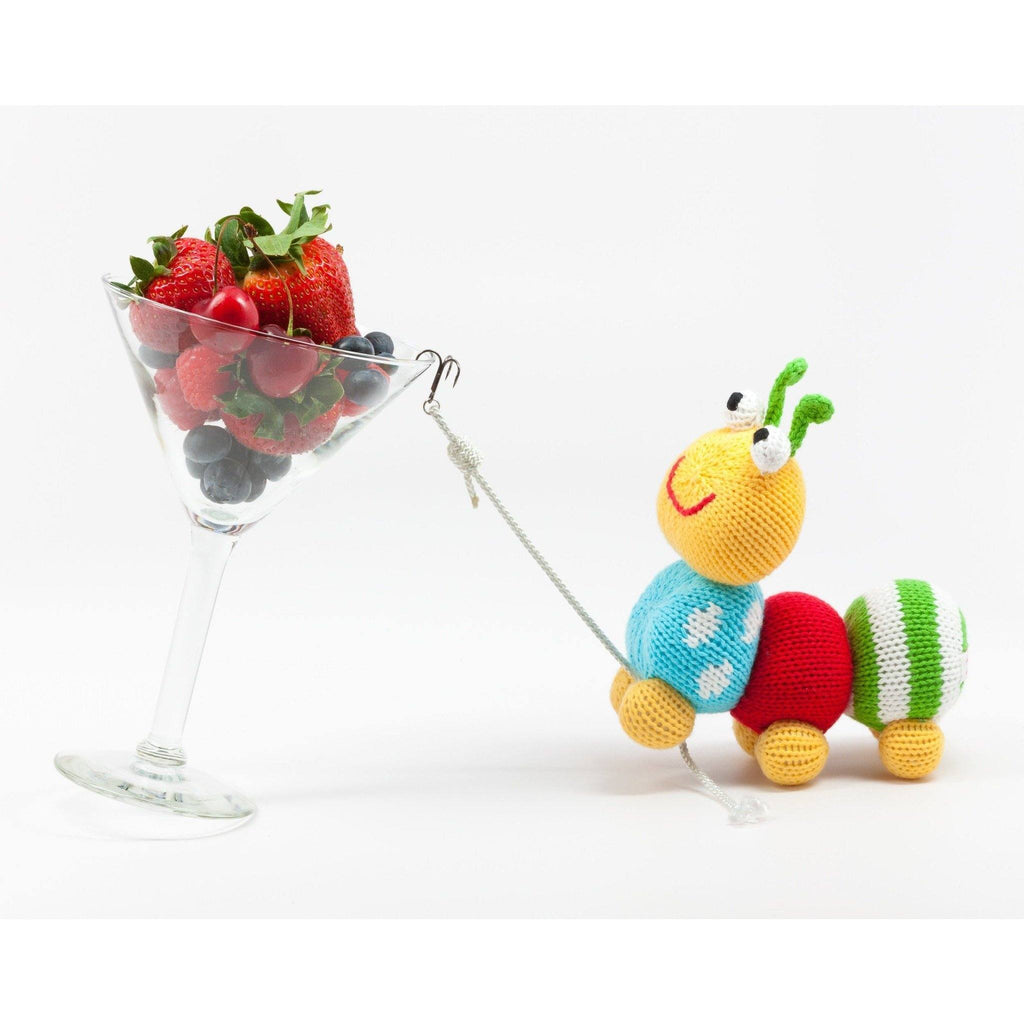 Nibble the Caterpillar - Petit Ami and Zubels baby toys and gifts