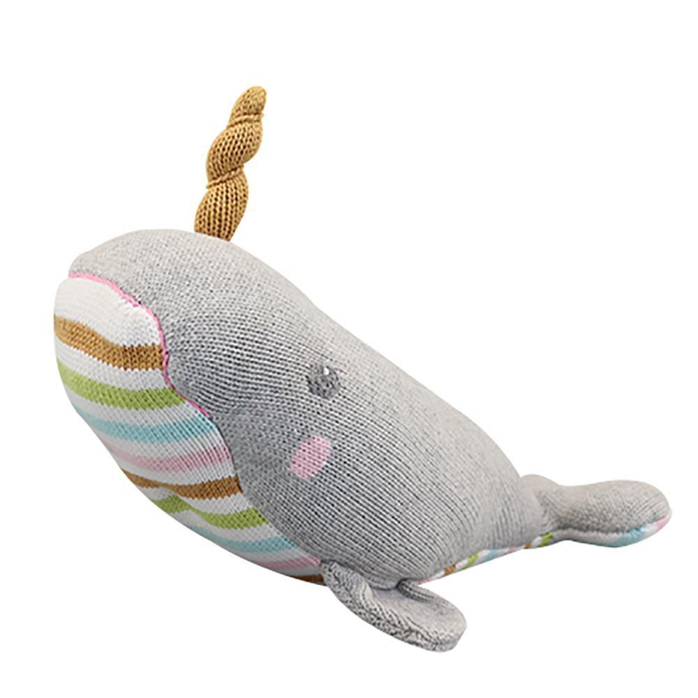 Nora the Narwhal Knit Doll toy zubels