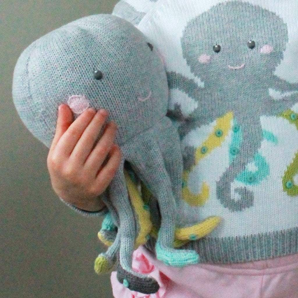 Ollie The Octopus - Petit Ami and Zubels baby toys and gifts