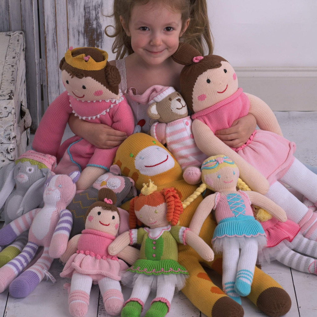 Emma the Princess Knit Doll toy zubels