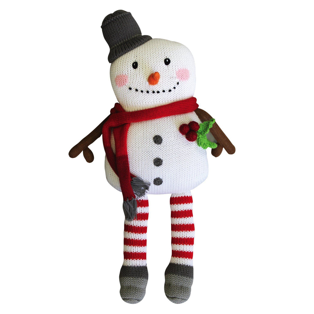 Mac the Snowman - Petit Ami and Zubels baby toys and gifts toddler child