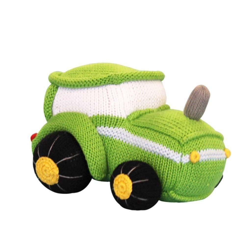 Tobey The Tractor Knit Doll toy zubels
