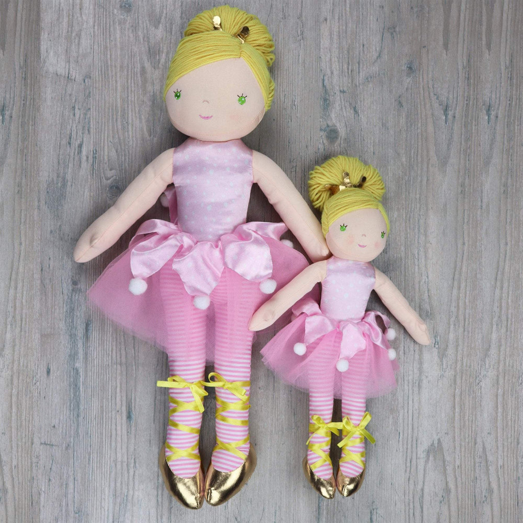 Ballerina Dancing Darlings - Olivia - Petit Ami and Zubels baby toys and gifts