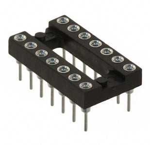 14-Pin Milled Socket