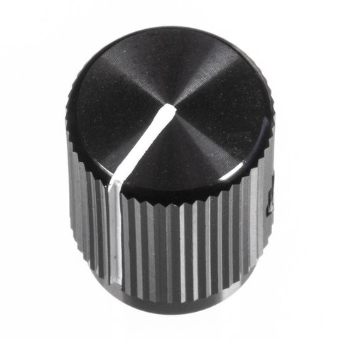 Image of 13mm Anodized Aluminum Knob, Black