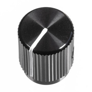 13mm Anodized Aluminum Knob, Black