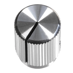 13mm Anodized Aluminum Knob, Silver