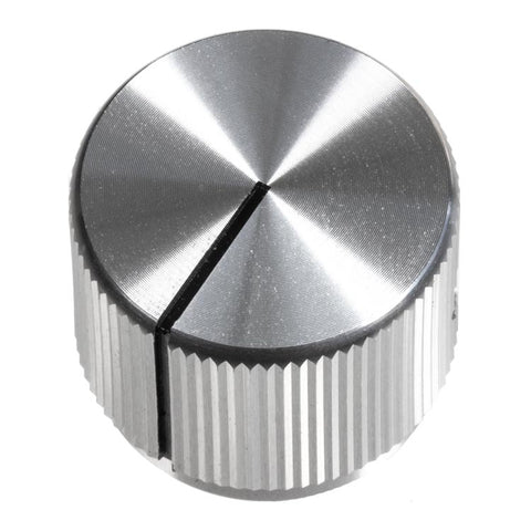 Image of 19mm Anodized Aluminum Knob, Silver