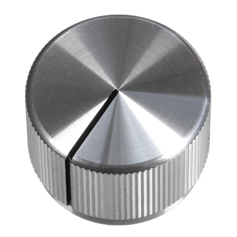 Image of 24mm Anodized Aluminum Knob, Silver