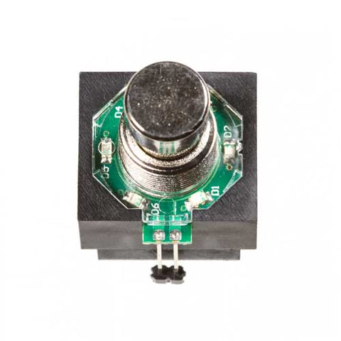 Image of 3PDT Foot Switch with LED Ring, Green