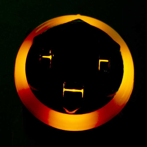 Image of 3PDT Foot Switch with LED Ring, Wired, Yellow