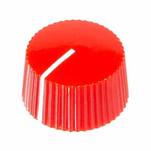 Amp Style Knob, Red