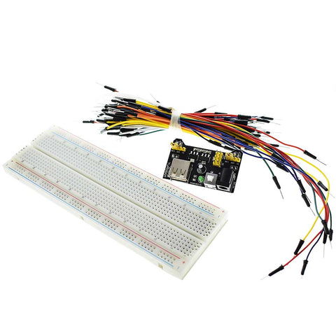 830 Hole Breadboard Kit