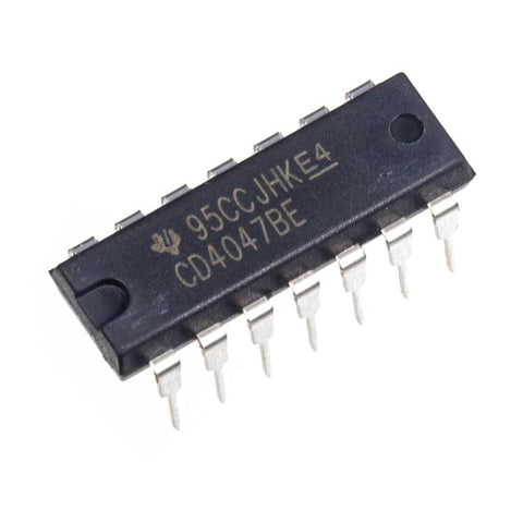 CD4047 Monostable Multivibrator