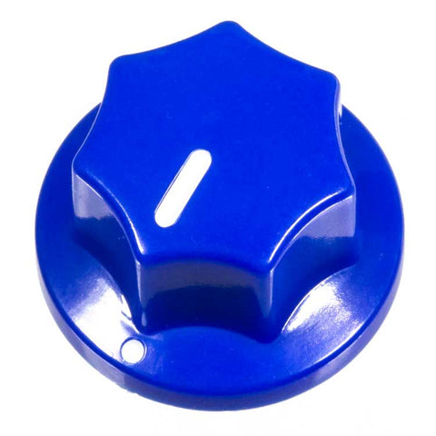 Image of Fluted Knob, Blue