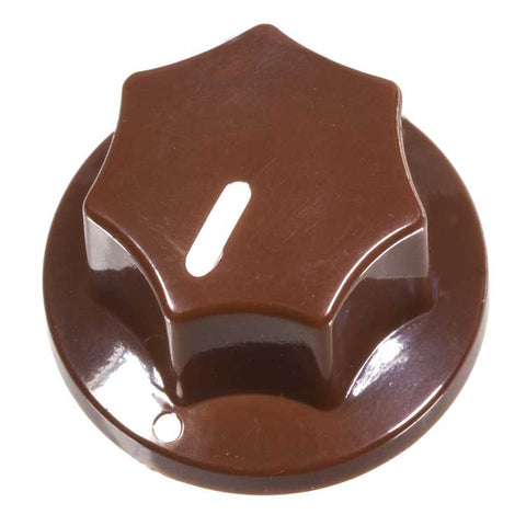 Fluted Knob, Brown