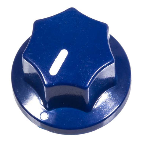 Fluted Knob, Dark Blue