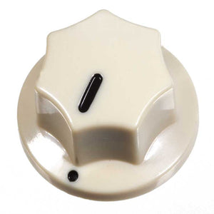 Fluted Knob, Dark Cream