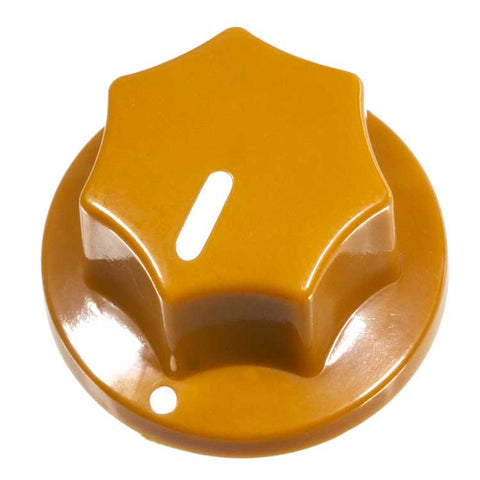 Image of Fluted Knob, Mustard