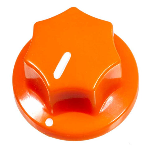Fluted Knob, Orange