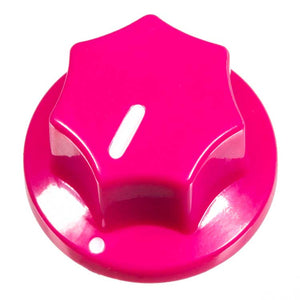 Fluted Knob, Pink