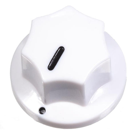 Image of Fluted Knob, White
