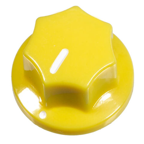 Image of Fluted Knob, Yellow