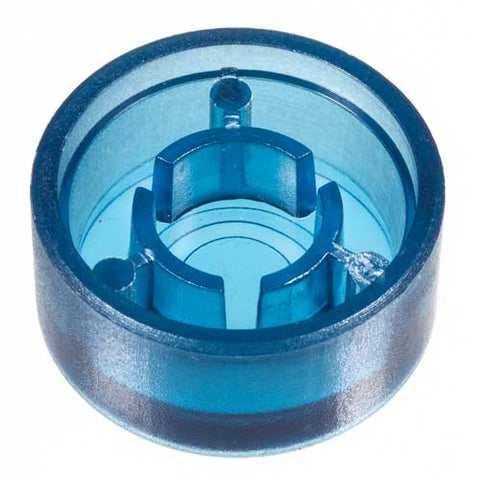 Foot Switch Cap, Transparent Blue