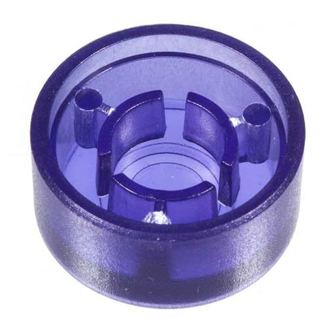 Foot Switch Cap, Transparent Dark Blue