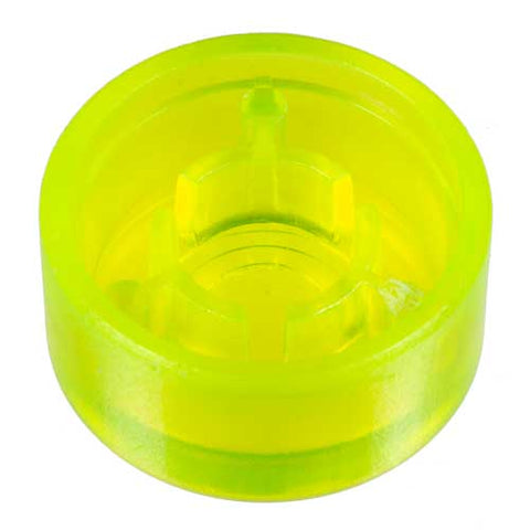 Image of Foot Switch Cap, Transparent Neon Yellow