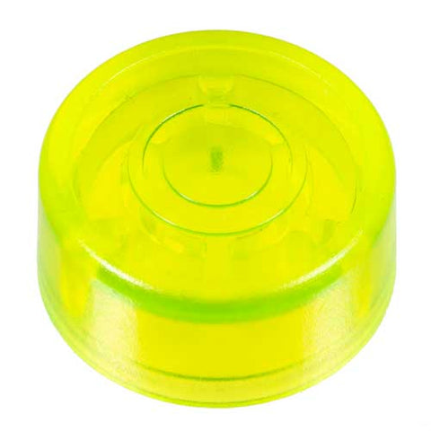 Foot Switch Cap, Transparent Neon Yellow