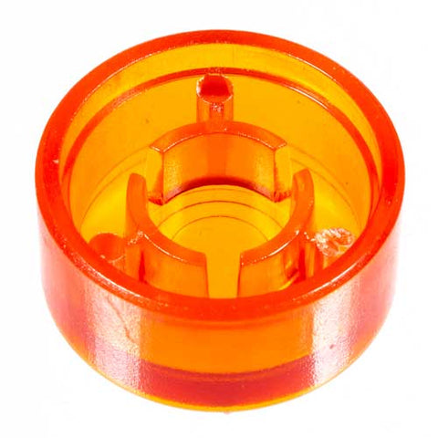 Foot Switch Cap, Transparent Orange