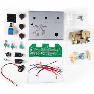 Klone Overdrive Guitar Pedal DIY Complete Kit, Silver