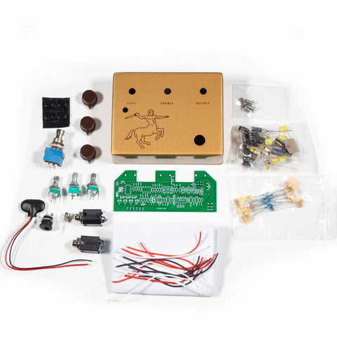 Klone Overdrive Guitar Pedal DIY Complete Kit