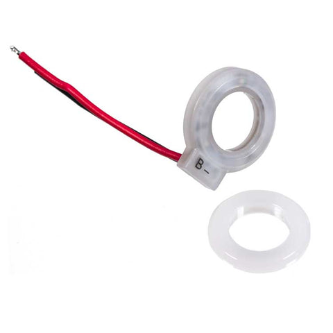 LED Foot Switch Ring, Red/Blue