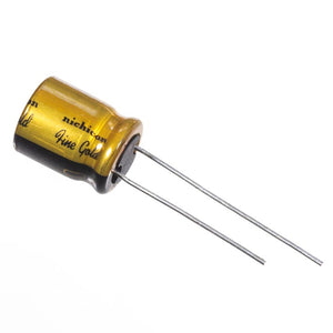 220uF 16V Nichicon Audio Grade Fine Gold Capacitor