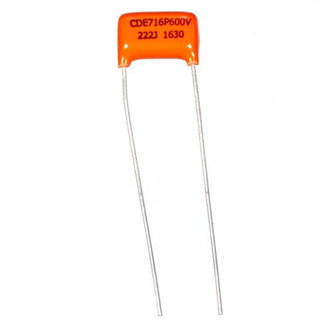 .0022uF Orange Drop 716P 600V Polypropylene Capacitor
