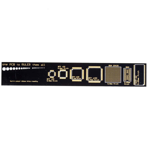 Image of 6-Inch PCB Pattern Ruler