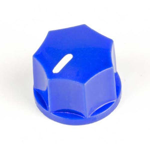 Small Fluted Knob, Blue