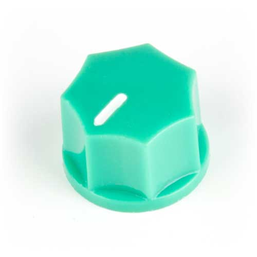 Small Fluted Knob, Mint