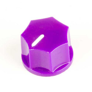 Small Fluted Knob, Purple